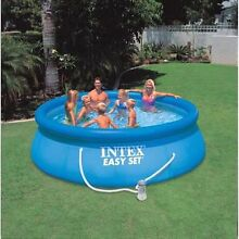 Bargain before summer Intex blow - up pool Craigmore Playford Area Preview
