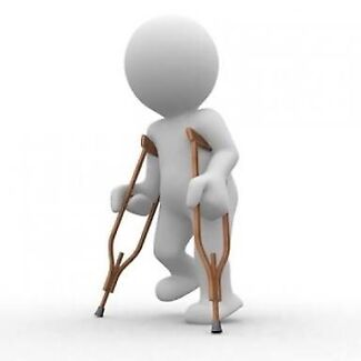 Adult crutches two sizes Available