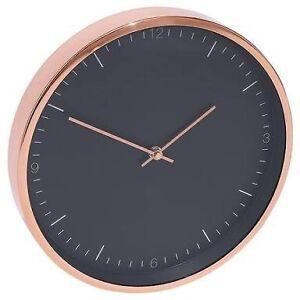 BRAND NEW Lisa T black & rose gold clock Mount Hawthorn Vincent Area Preview