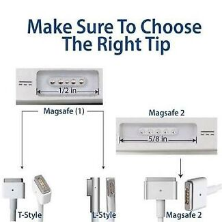 MacBook chargers for sale MagSafe 1 & MagSafe 2