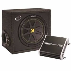 Kicker Amp and sub combo deal Dianella Stirling Area Preview