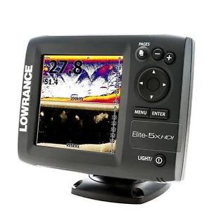 Lowrance Elite 5x HDI Fish Finder / Sounder Benowa Gold Coast City Preview