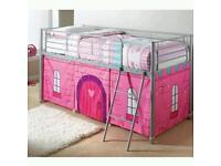 PRINCESS BED WITH UNDERNEATH STORAGE