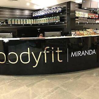 Bodyfit Miranda Gym Membership $13.95p/w