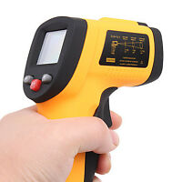 Digital InfraRed Thermometer Laser Sight (-50℃~380℃/-58℉~716FNEW