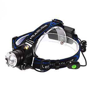 3-Mode Cree XM-L T6 LED Headlamp Flashlight
