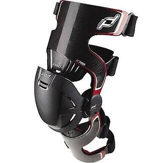 POD k700 Carbon Fiber Knee Braces set (right+left) MEDIUM