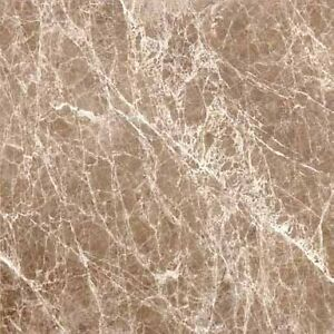 "Emerador Polished Marble 12"" x 12"" *$3.98/sqft*"