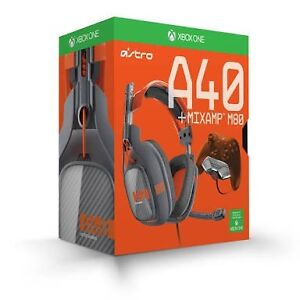 Astro A40 + Mixamp M80 (Dark grey/ Orange) Reedy Creek Gold Coast South Preview