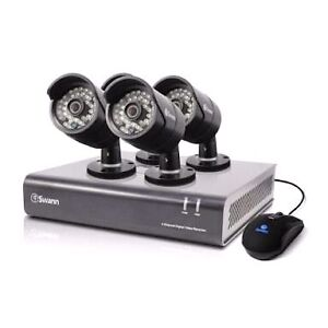 REDUCED D!3 cameras DVR hard drive n Tv CCTV home security pack Cooloongup Rockingham Area Preview