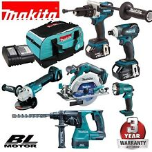 DLX6023T MAKITA 18V 6PC BRUSHLESS KIT 5AH DLX6023T Liverpool Liverpool Area Preview