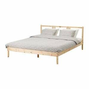 Ikea double bed and mattress Turrella Rockdale Area Preview
