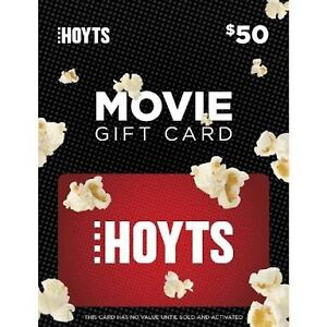 $50 Hoyts gift Card Capalaba West Brisbane South East Preview