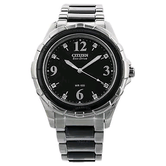 Wanted: Citizen watch silver and black handle.
