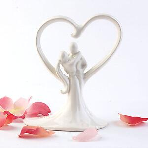 Bride & Groom Figurine Wedding Cake Topper