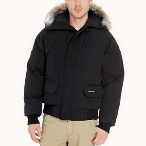 Canada Goose Men Chilliwack Bomber Black