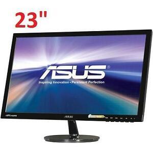 "NEW ASUS 23"" LED PC MONITOR 23"" PC COMPUTER PART - DISPLAY - 102262778"