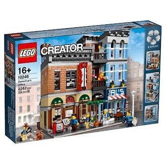 Lego Creator Detective Office 10246 Eight Mile Plains Brisbane South West Preview