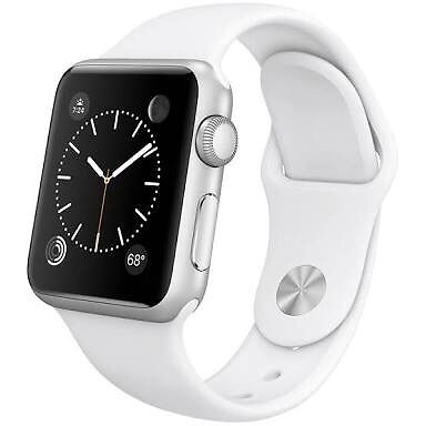 Apple Watch Sport WhiteBrand NewIn Boxin Kilburn, LondonGumtree - Brand New!! Apple Watch 38mm Case 7000 Series Silver Aluminum Ion X Glass Retina Display Composite Back Sport Band White Unopened, in box with plastic film. It was a gift, but not something I will use so I am selling it. Make an offer now. Pick up or...