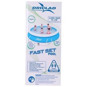Driclad Fast Set Inflatable Pool - BRAND NEW IN SEALED BOX Sydney City Inner Sydney Preview