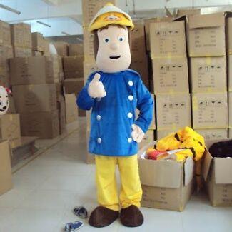 Fireman Sam Costume for hire Floreat Cambridge Area Preview