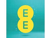 EE UK contract 20 GB/mo EU roaming free