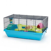 Hamster Cage with plastic tunnels, wheels, etc. MINT