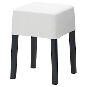 White IKEA NILS Stool Double Bay Eastern Suburbs Preview
