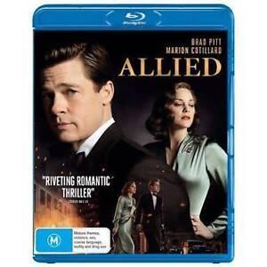 BRAND NEW Sealed ALLIED Blu-ray DVD Movie - Starring Brad Pitt Hillarys Joondalup Area Preview