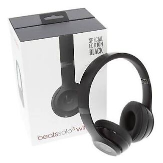 Beats solo3 wireless (black)