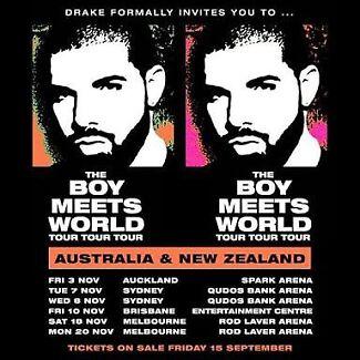 Drake Ticket - Saturday 18th November