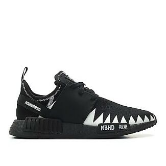 ADIDAS X NEIGHBORHOOD NMD R1 BLACK US9,9.5 DS