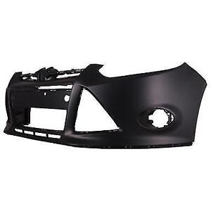 NEW PAINTED 2012-2014 FORD FOCUS FRONT BUMPERS +FREE SHIPPING