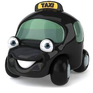 Taxi, urber, courier service