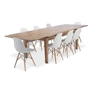 St Malo Solid Oak Dining Table