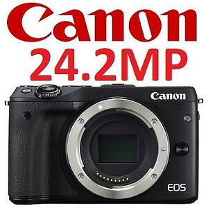 OB CANON EOS M3 MIRRORLESS CAMERA 9694B001 205190637 BODY ONLY PHOTOGRAPHY OPEN BOX