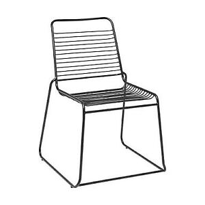 FOR HIRE: Black Wire Chair
