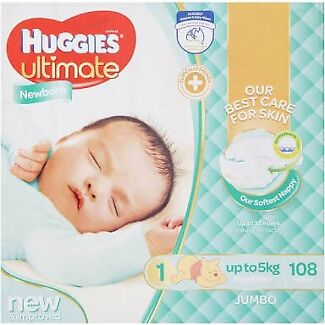 Huggies Newborn Nappies