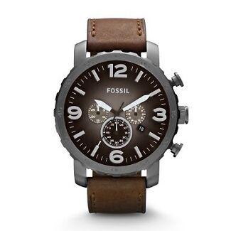 Fossil New men's chronograph gun mental watch Buckland Glamorgan Area Preview
