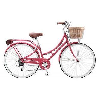 Vintage ladies bike watermelon New