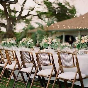 FOR HIRE: Bamboo Folding Chairs