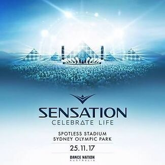 1 x Sensation Ticket