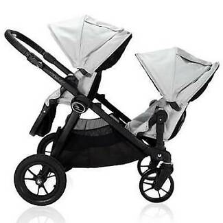 Baby jogger city select double pram w extras