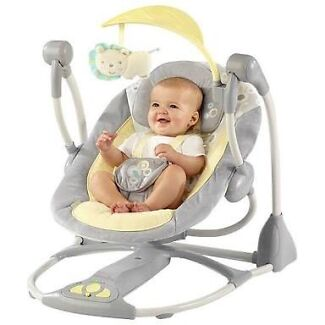 Bright starts portable baby swing  Woolloongabba Brisbane South West Preview