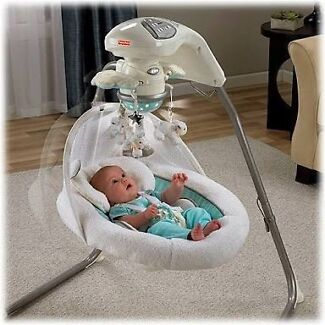 My little lamb cradle and swing!! Canterbury Canterbury Area Preview