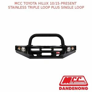 TOYOTA HILUX MCC FALCON BULLBAR TRIPLE + SINGLE LOOP SUIT Liverpool Liverpool Area Preview