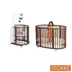 Stokke Sleepi Mini Bed & Stokke Sleepi Cot Bed Extension Coombabah Gold Coast North Preview