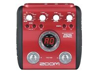 Zoom B2 trade for electric guitar