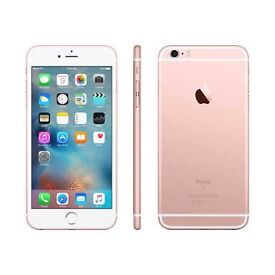 iPhone 6s Plus rose gold 16gb on 3