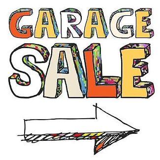 Garage Sale Sunday 10th Dec